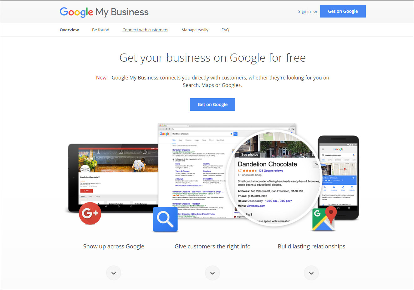 increase sales with Google