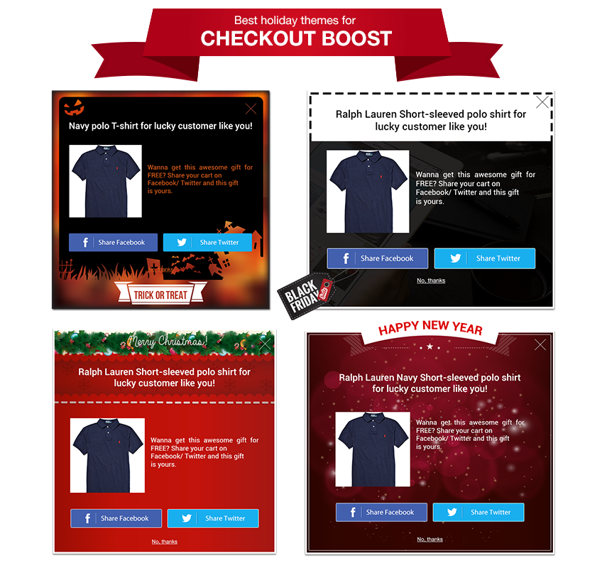 Checkout Boost Holiday Themes