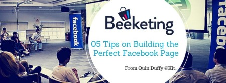 05 tips on building the perfect facebook page