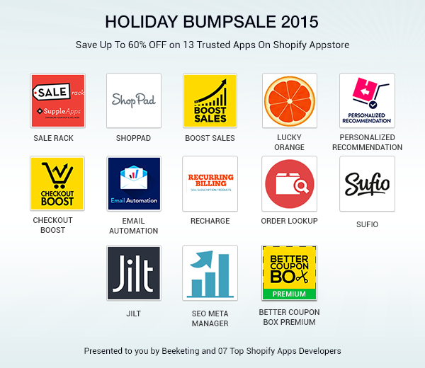 All Apps in Holiday Bumpsale 2015