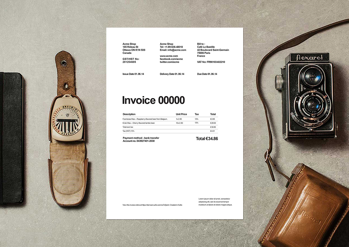 what are invoices