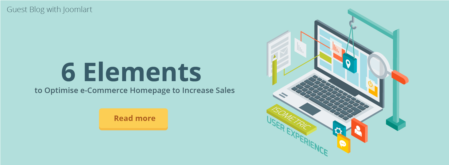 6 Elements to Optimise e-Commerce Homepage to Increase Sales