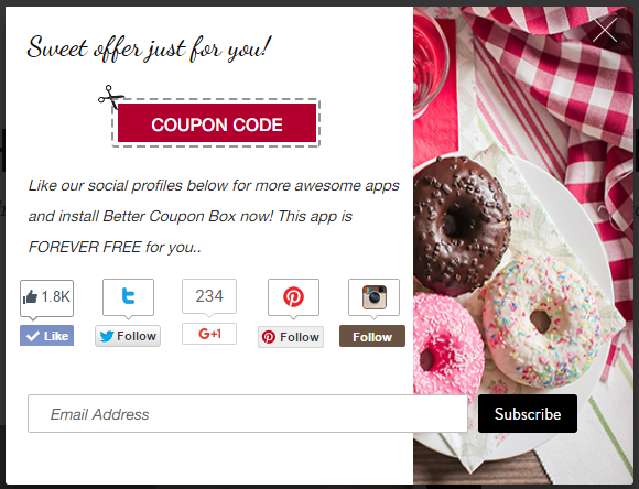 best coupon pop ups designs for WooCommerce