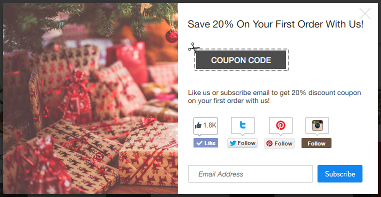 best coupon pop ups for WooCommerce
