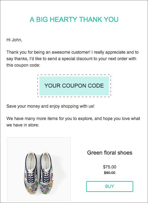 reward coupon campaign