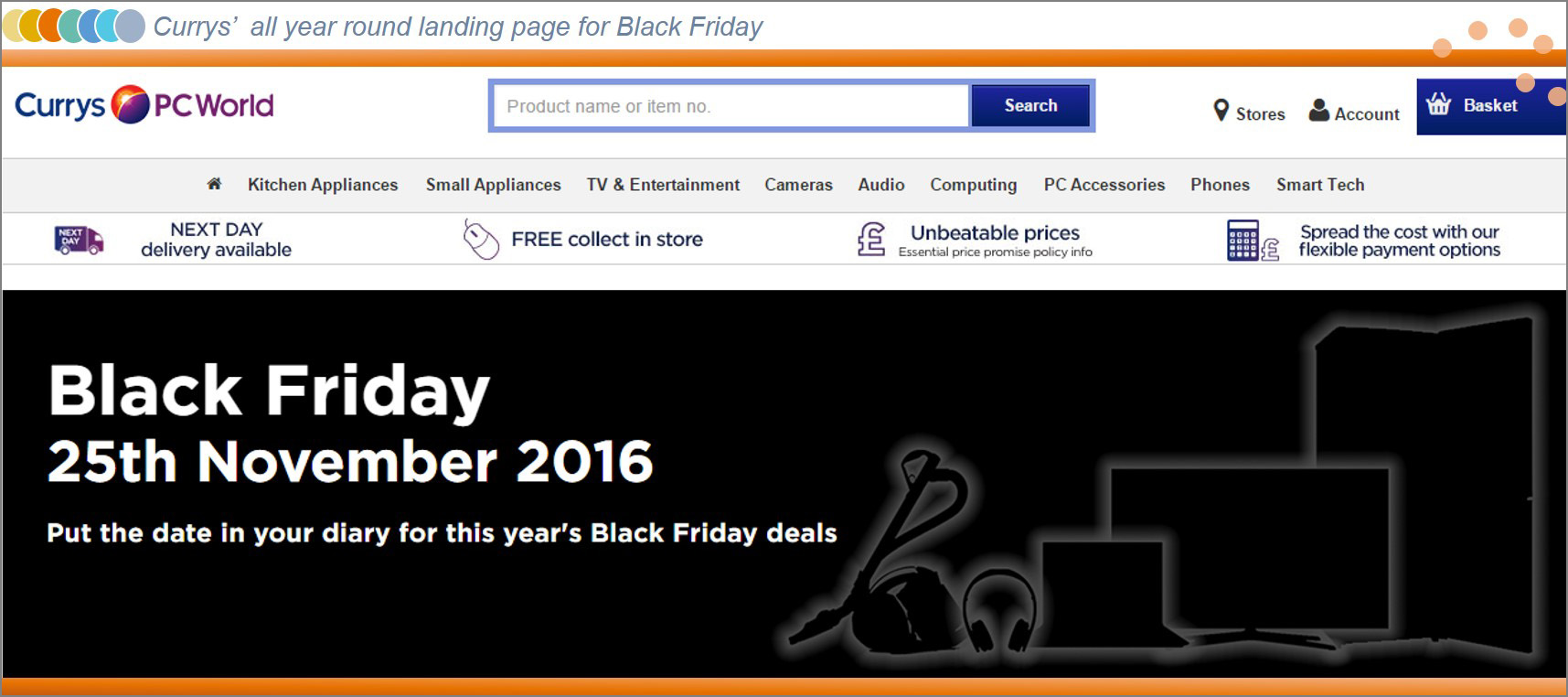 black friday marketing practices