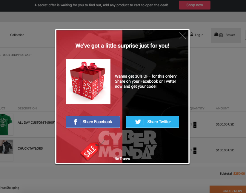 boost holiday sales by preventing cart abandonment