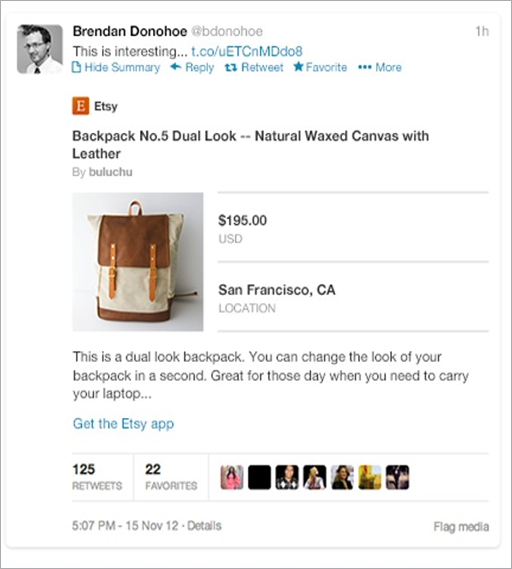 use twitter to promote products