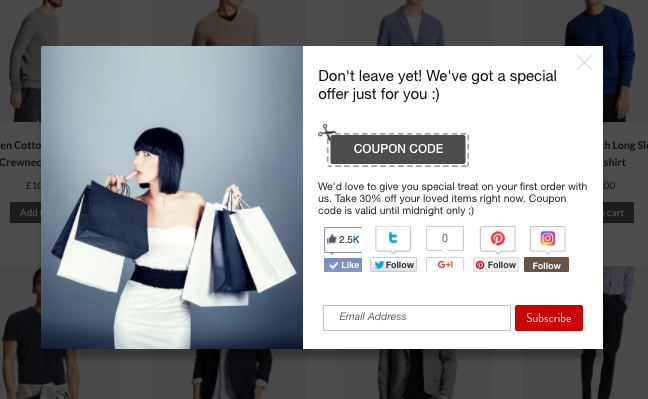 Better Coupon Box - shopping cart abandonment solutions