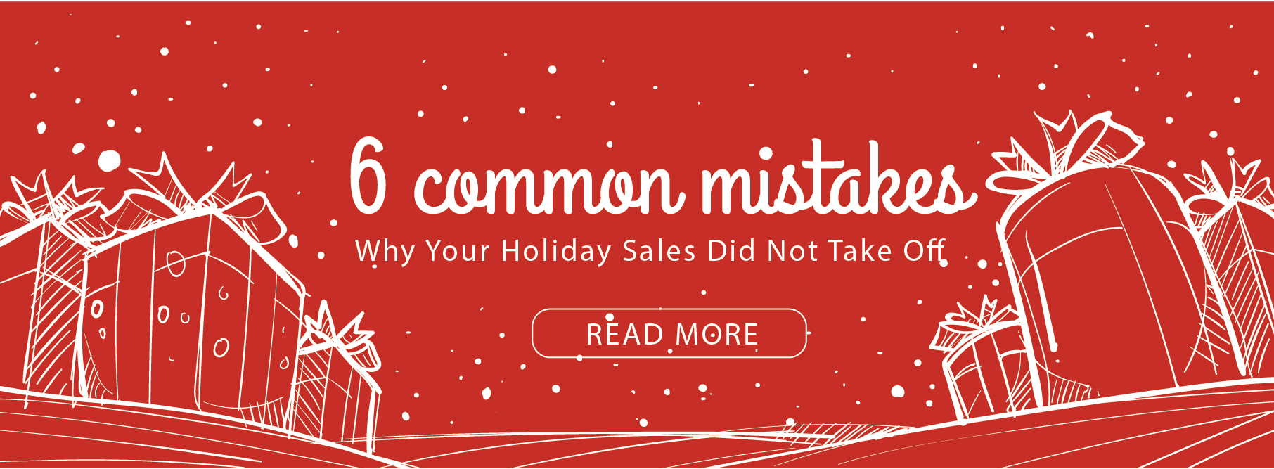 ecommerce common mistakes