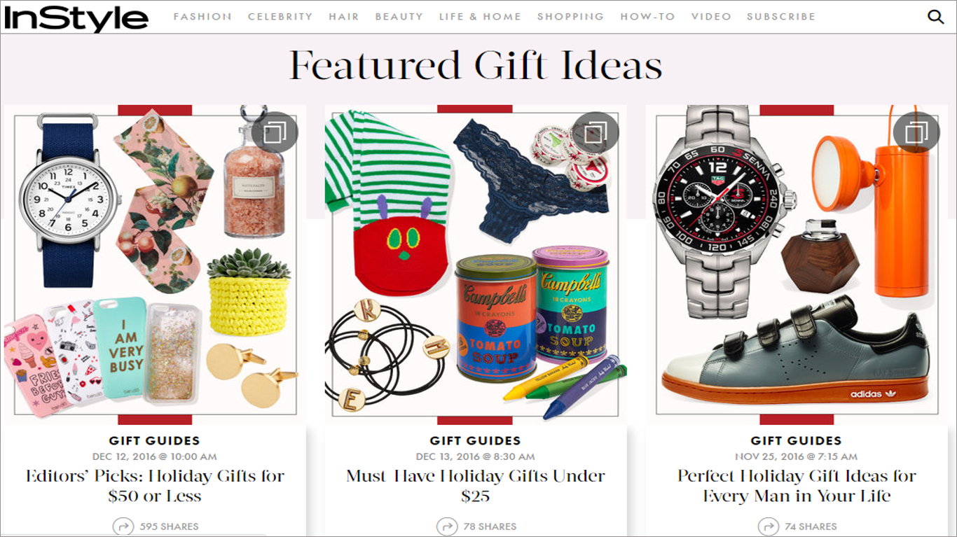 gifte guides for online shoppers