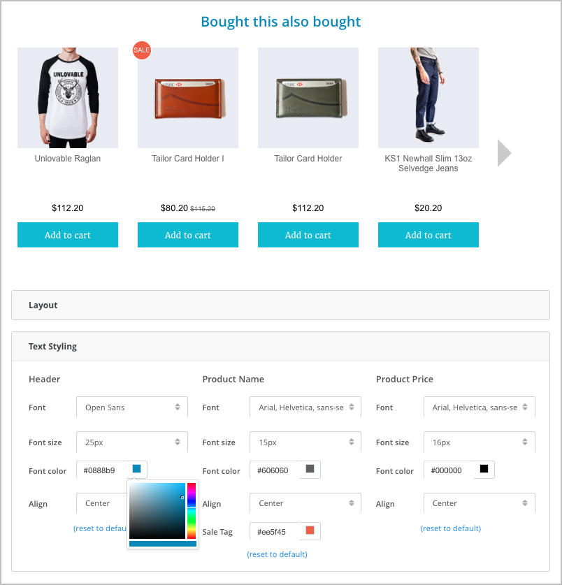 top bigcommerce app for personalized recommendation