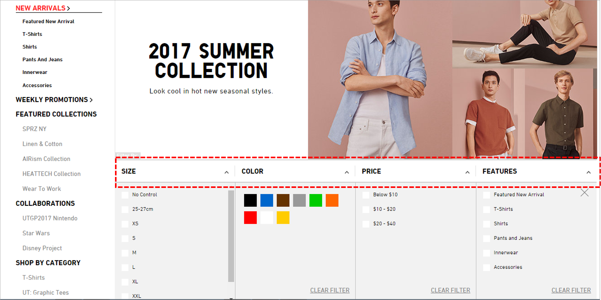 beautiful ecommerce website design
