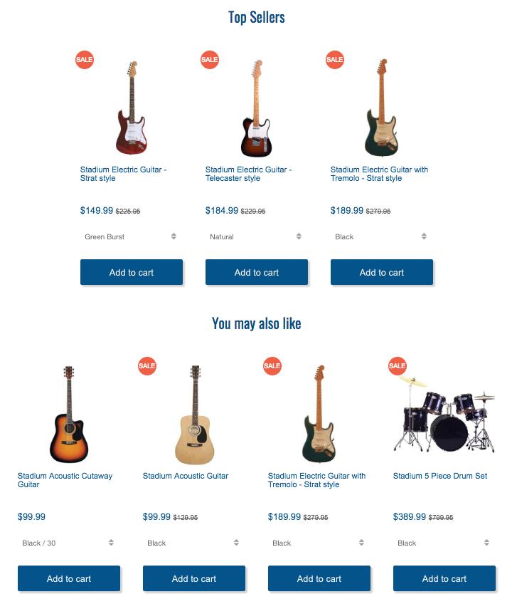 prec widgets homepage