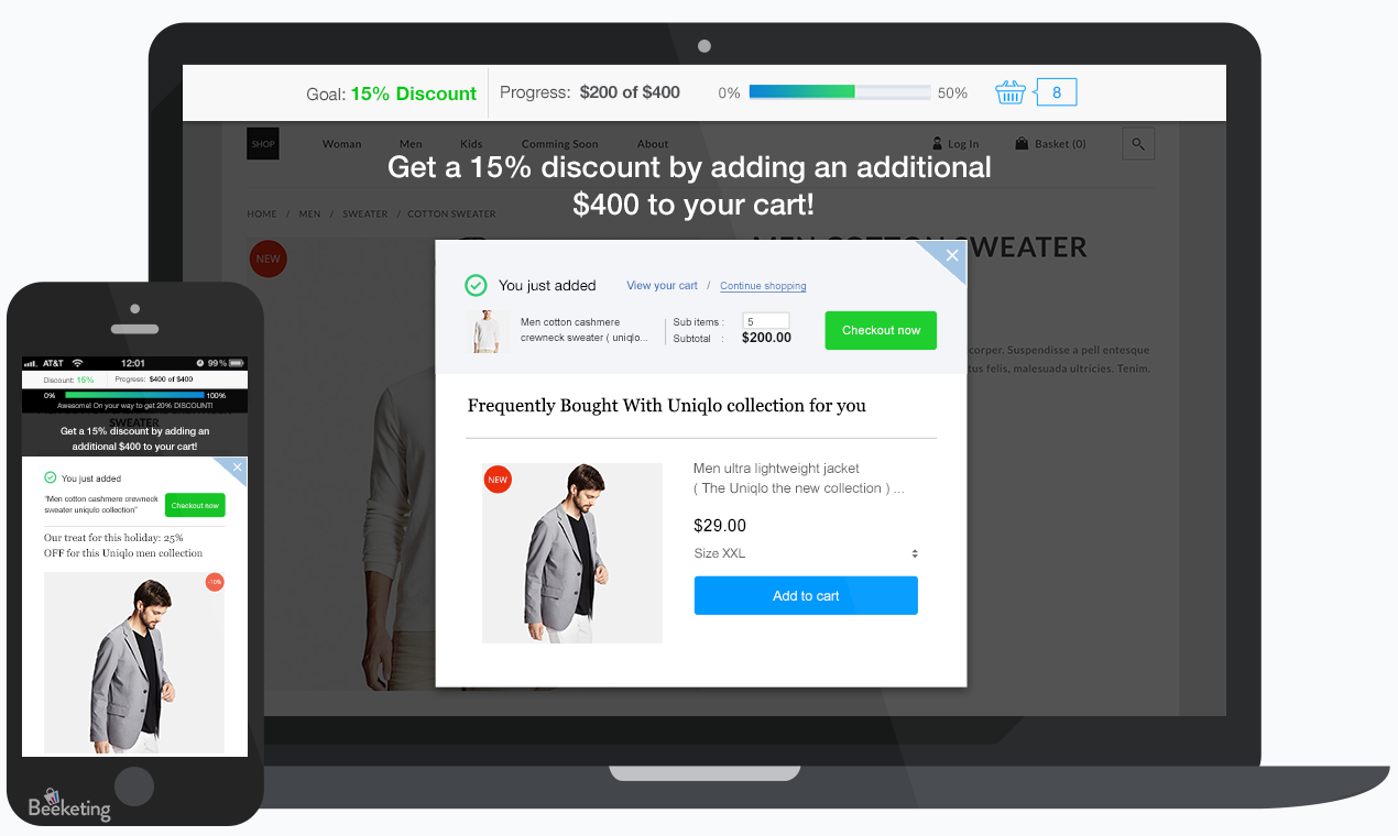 WooCommerce Upsell & Cross-sell by Boost Sales