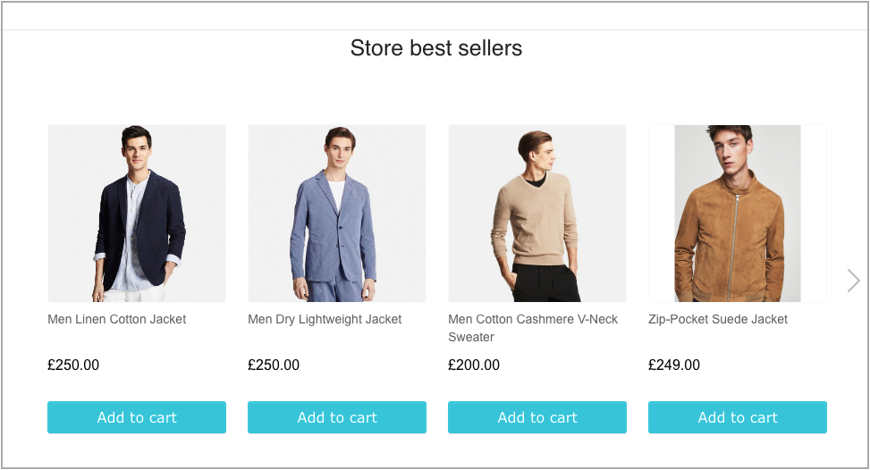 woocommerce best sellers recommendation