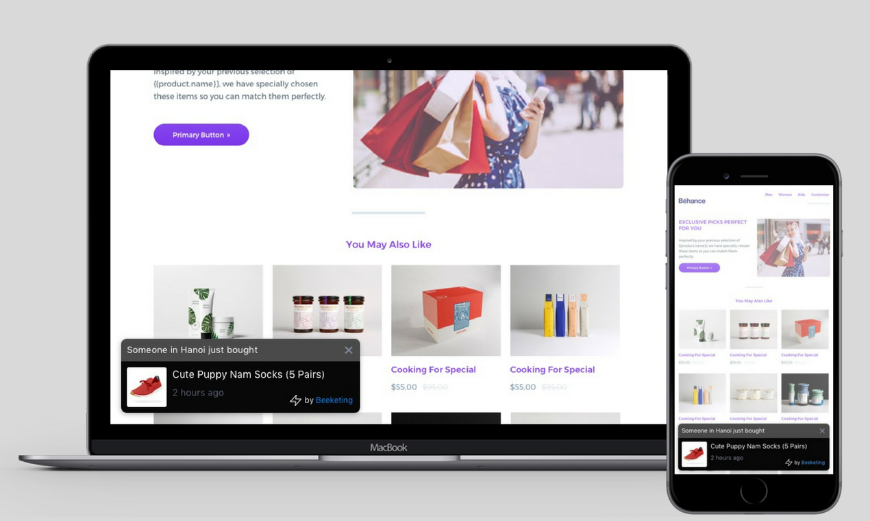 WooCommerce Live Sales Notifications plugin