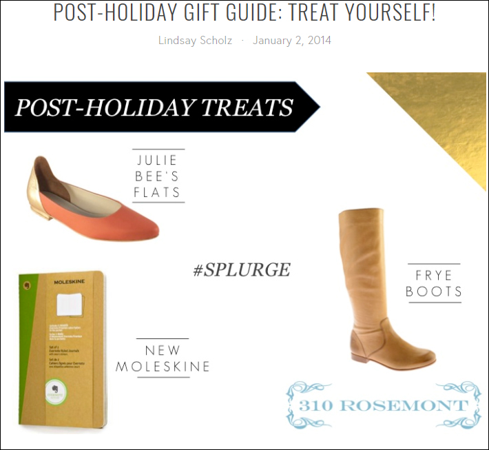 Post-holiday gift guide