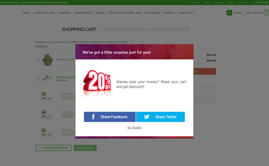 woocommerce examples that use Beeketing