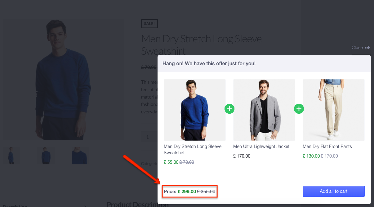 WooCommerce product bundles example