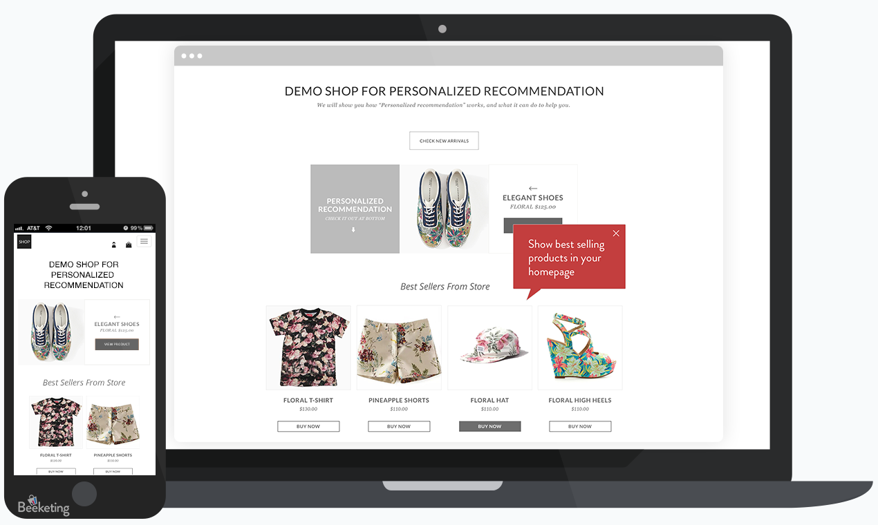 Personalized Recommendations - Top Shopify apps in 2018