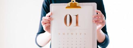 2018 ecommerce promotional calendar
