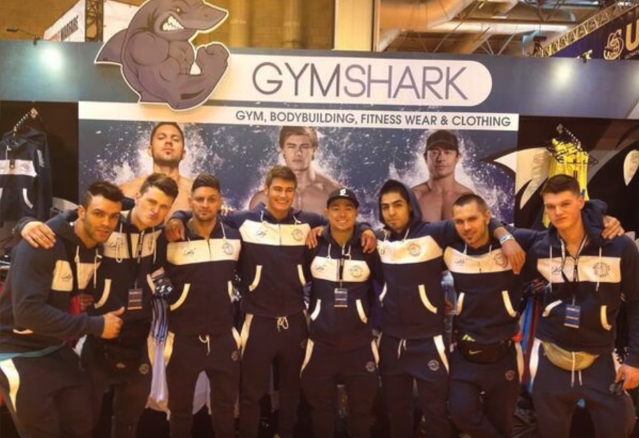 gymshark going to expo