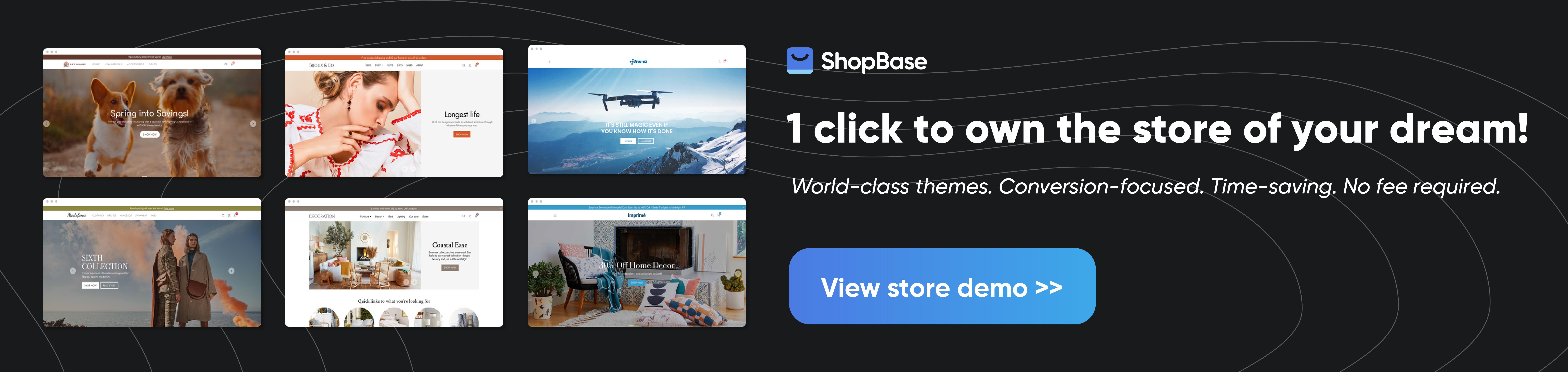 ShopBase storefront