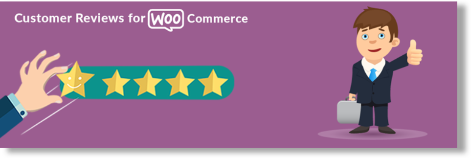 Customer review for WooCommerce