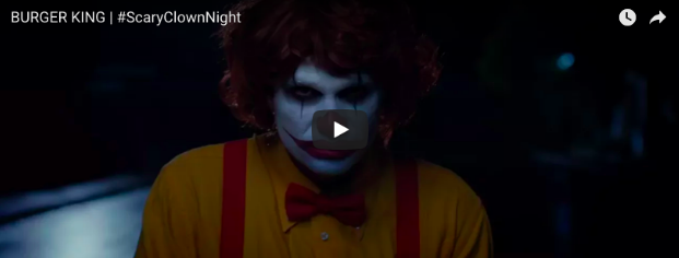 #ScaryClownNight campaign