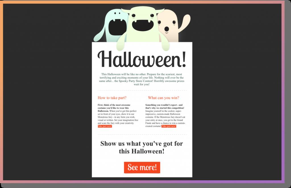 mailbot halloween