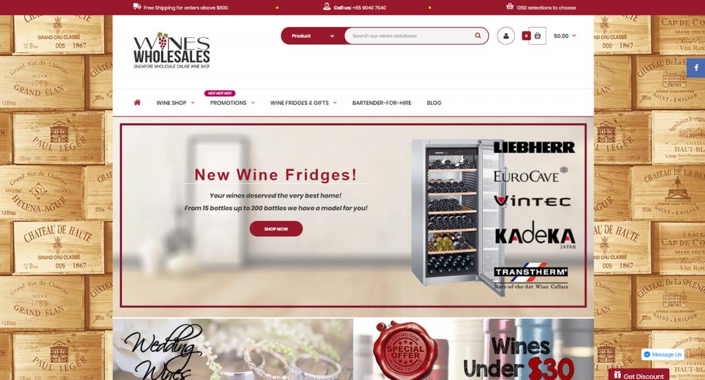 Wines Wholesales