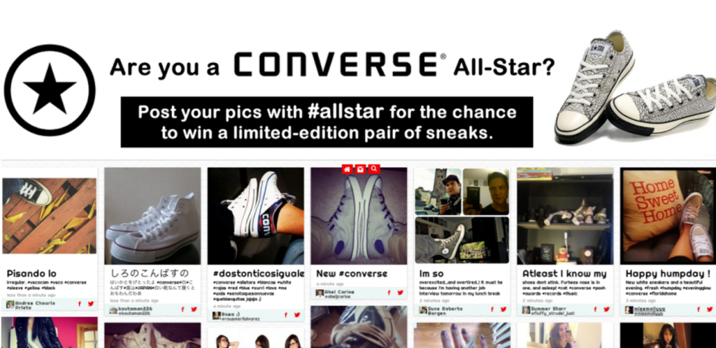Converse's giveaway