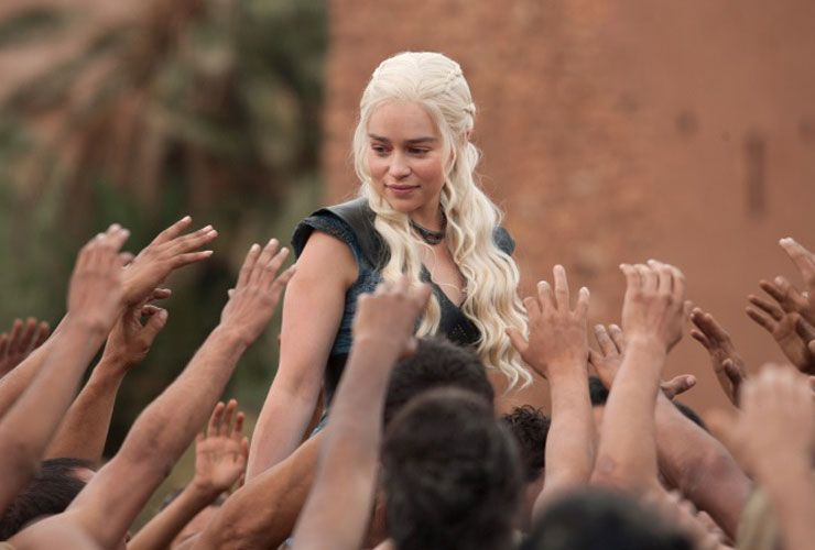 Daenerys freed slaves in Slaver's Bay