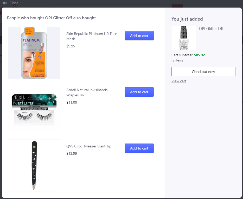 product bundling offers by Boost Sales