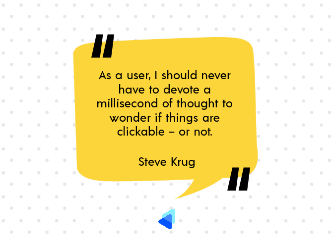 Click here, not there - Steve Krug