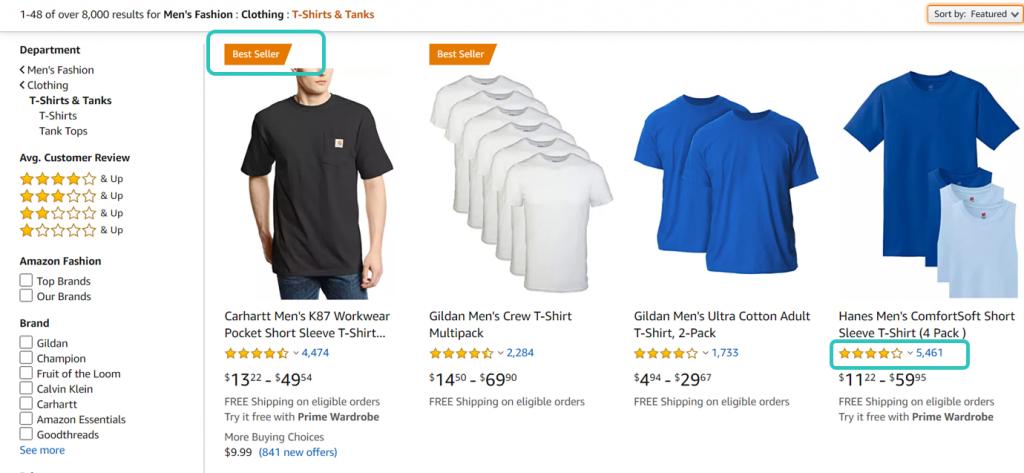 Amazon's best sellers