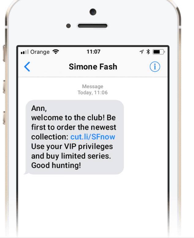 Combine Emails with Text Messaging