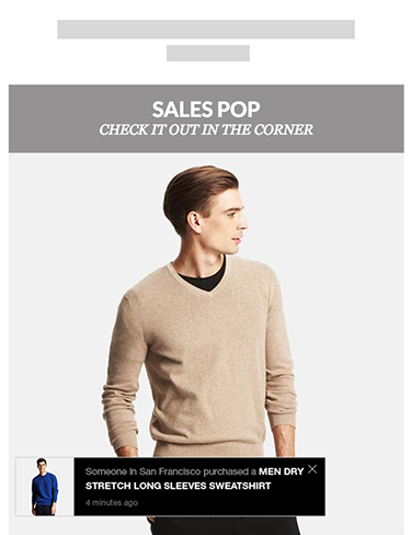 Sales pop - The best popup to boost sales.