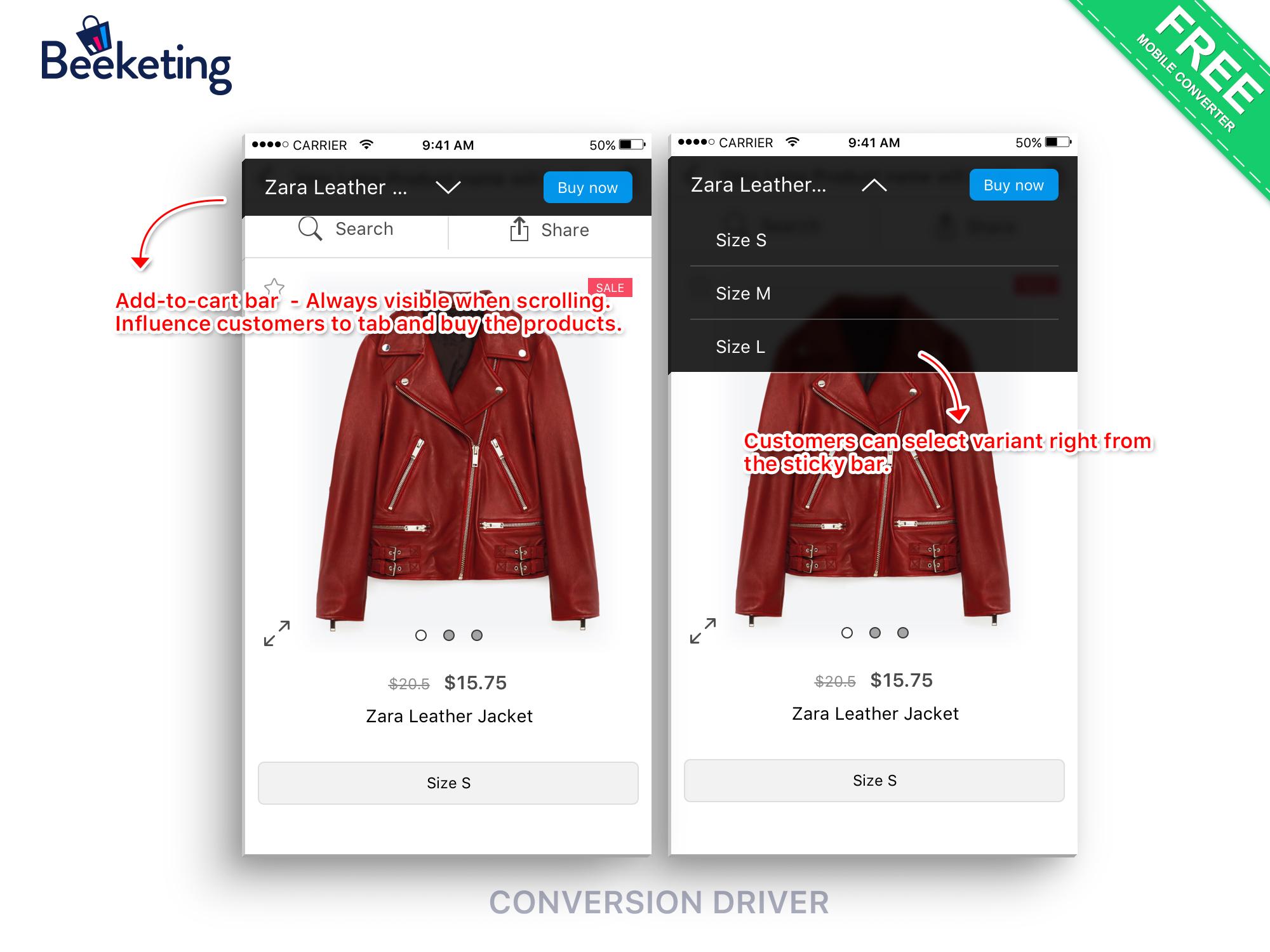 Conversions Driver