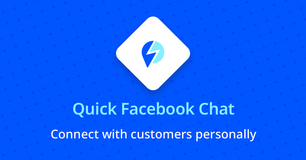 Quick Facebook Chat | Onsite Messenger Live Chat Popup