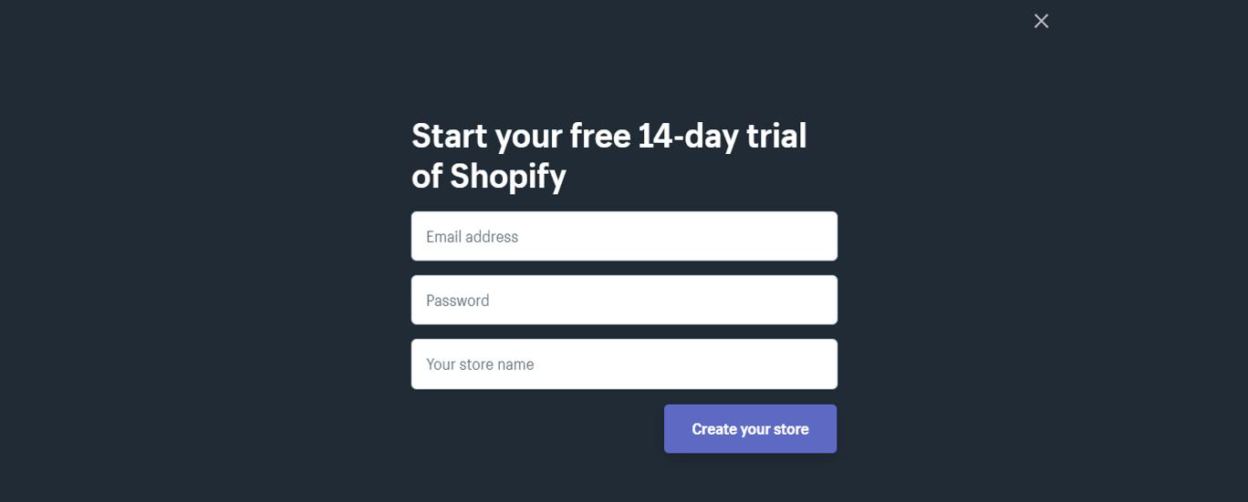 shopify-free-trial